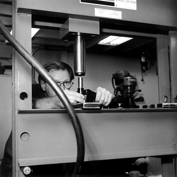 Machining car parts (Patrick Ottis Company, Berkeley, 2006) © Sheila Newbery