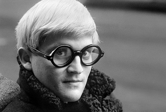 David Hockney, 1966, by Jane Bown