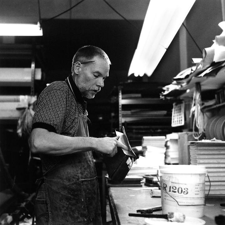 Klaus-Ullrich Rötzscher, Pettingell Book Bindery (Berkeley, 2007) © Sheila Newbery