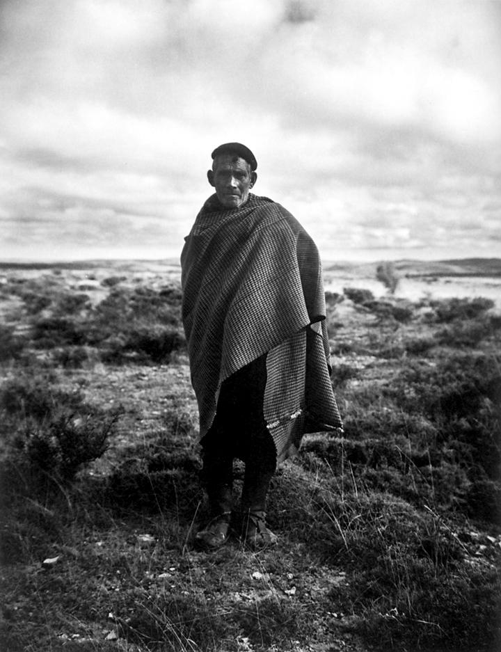 Shepherd in Spain by Evelyn Hofer