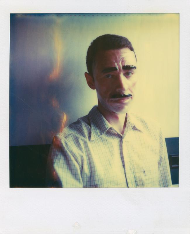 From 'Like a man, as a man (16 polaroids) © James Luckett
