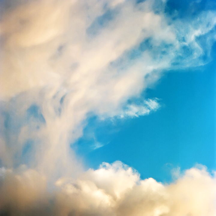 Cloud study (Berkeley, 2010) © Sheila Newbery