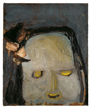 Untitled (1960) by Eva Hesse, collection of the Museum of Modern Art, New York