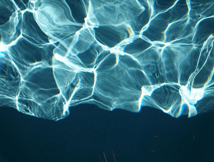 Water study (Palo Alto, CA, 2010) © Sheila Newbery