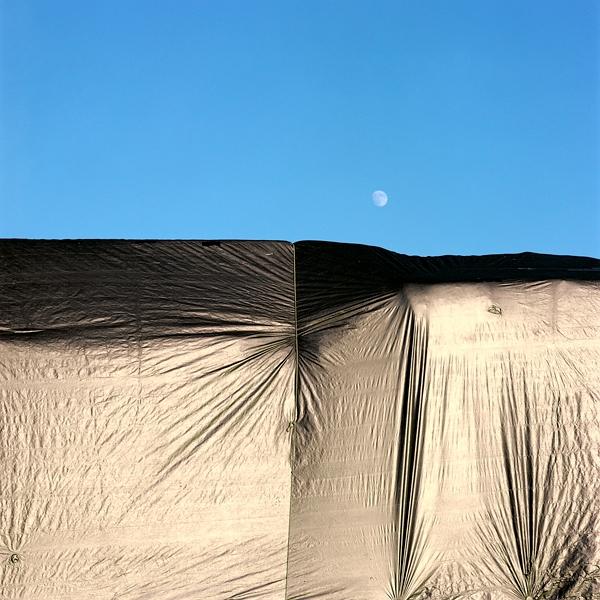 Moonrise over Tarp (Albany, CA) © Sheila Newbery