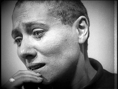 "Falconetti in the title role of ""The Passion of Joan of Arc"""