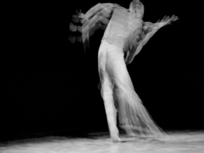 Solo dancer, performance by William Forsythe