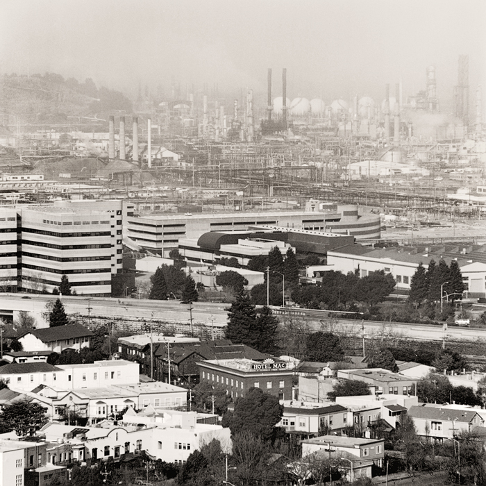 View of Chevron (Richmond, CA, 2011) © Sheila Newbery