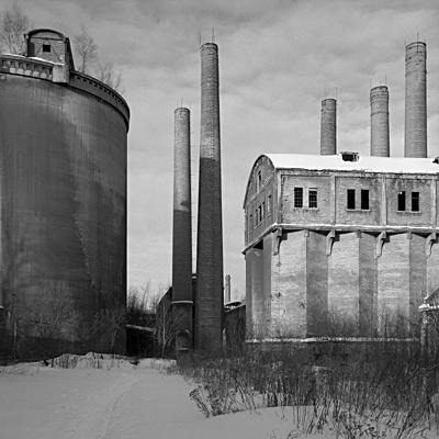 Grodziec cement mill 10.03.2005 © Wojciech Wilczyk