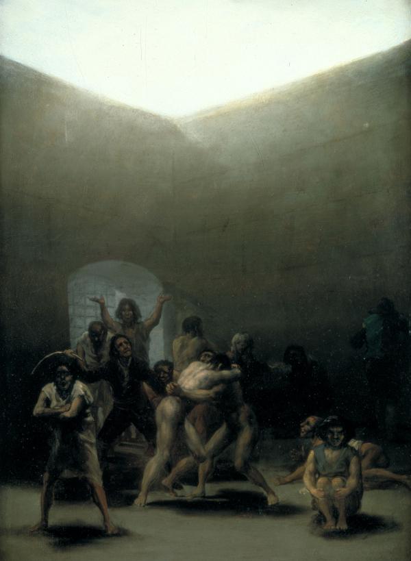 Corral de locos (1793/4) Francisco José de Goya y Lucientes