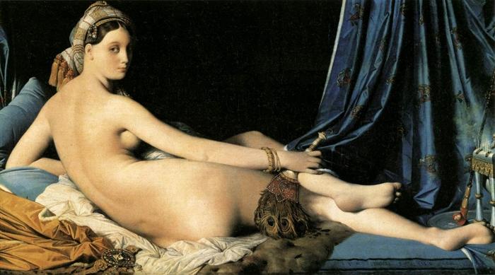La Grande Odalisque (1814) by Jean Auguste Dominique Ingres