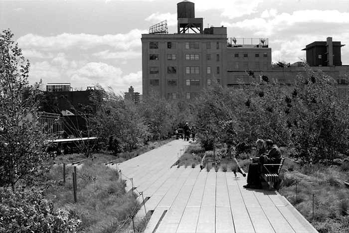 Tête-à-tête  (The High Line, 2011) © Sheila Newbery