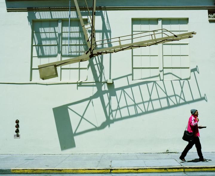 Walking under ladders (Berkeley, 2011) © Sheila Newbery