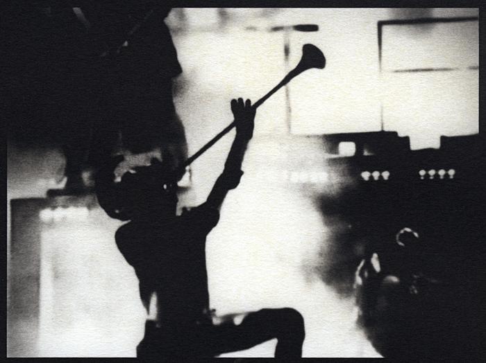 """Sople con fuerza"", platinum palladium print from *Los Caprichos* (2012) Sheila Newbery"