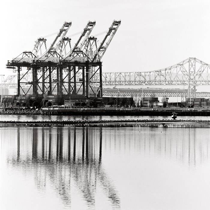 Port of Oakland, 2011 © Sheila Newbery