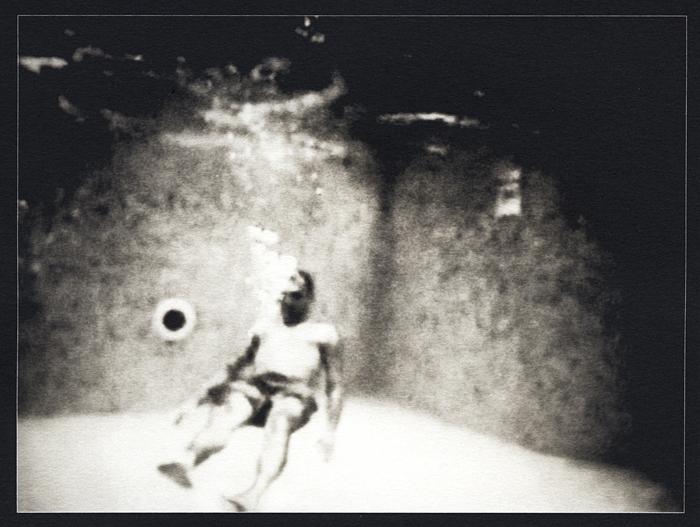 Ha decidido quedarse allí (palladium print, 2012) from *Los Caprichos*