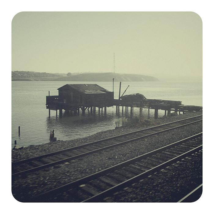 Train passing (2011) © Sheila Newbery