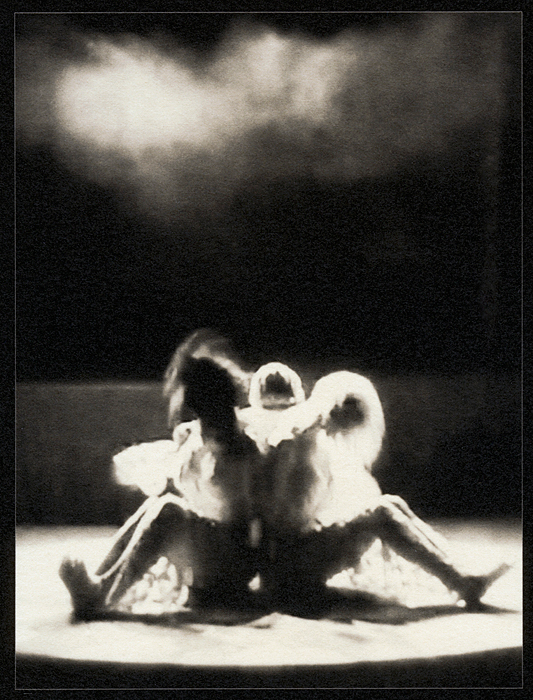 """Los Prisioneros"" from *Los Caprichos: after Goya* (palladium print, 2012) © Sheila Newbery"