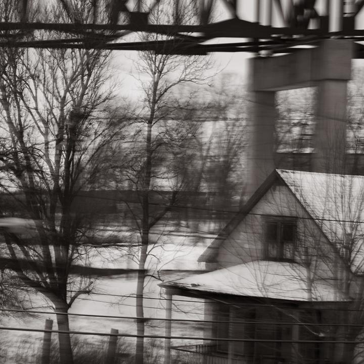 Ohio, 2013 (platinum palladium print) © Sheila Newbery