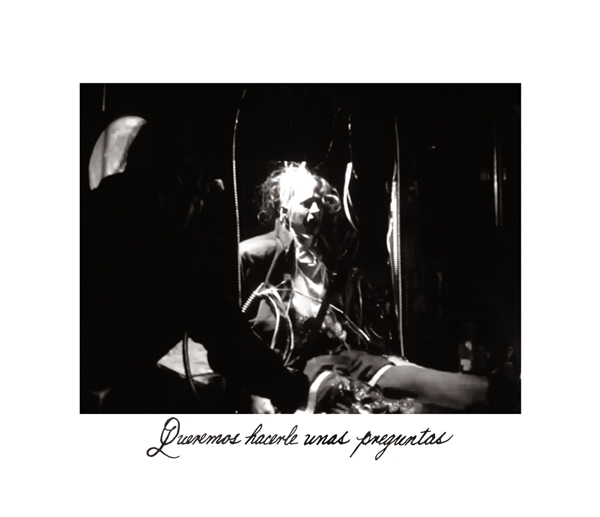 """""""We want to ask you a few questions"""" (2014, platinum palladium) from *Los Caprichos: after Goya*"""